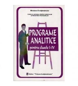Programe analitice pentru...