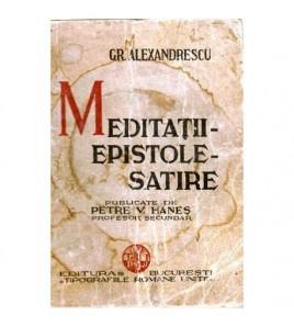 Meditatii - epistole -...