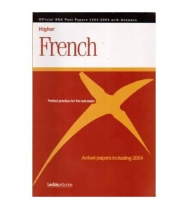 Higher French - perfect...
