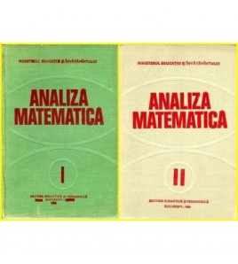 Analiza matematica vol.I -...