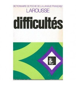 Difficultes - dictionnaire...