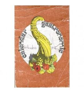 Calendar gastronomic 1986