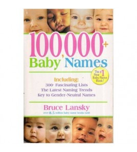 100 000+  Baby Names