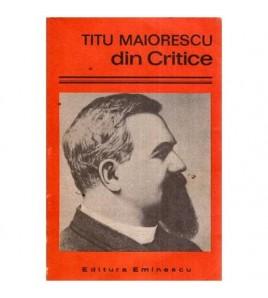Titu Maiorescu din Critice