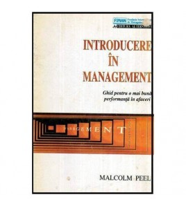 Introducere in management -...