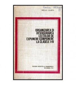 Organizarea si desfasurarea...