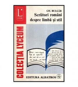 Scriitori romani despre...