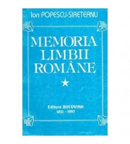 Memoria limbii romane