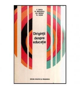 Dirigintii despre educatie