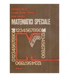 Matematici speciale -...