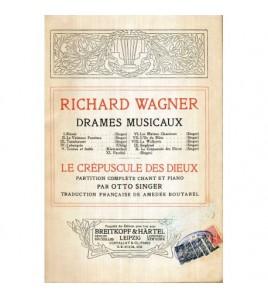 Richard Wagner -  Drames...