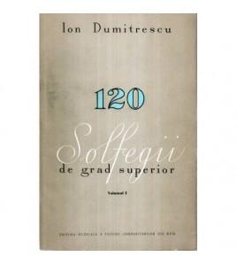 120 Solfegii de grad...