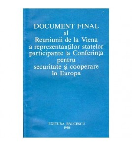 Document final al Reuniunii...