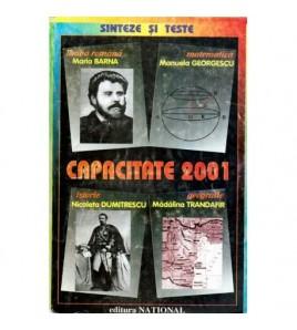 Capacitate 2001 - Sinteze...