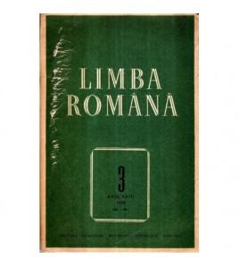 Limba romana - Anul XXVII...