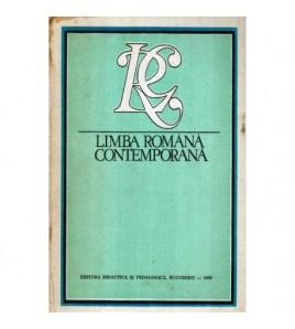 Limba romana contemporana -...