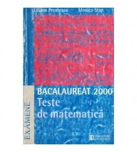 Bacalaureat 2000 - Teste de...