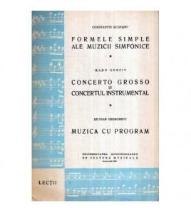 Formele simple ale muzicii...