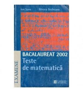 Bacalaureat 2002 - Teste de...