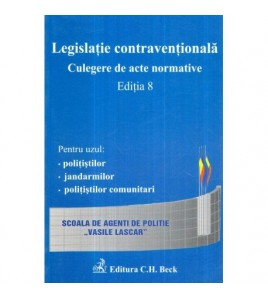 Legislatie contraventionala...