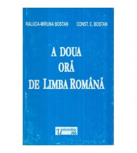 A doua ora de limba romana...