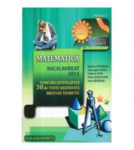 Matematica: Bacalaureat...