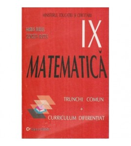 Matematica - Manual pentru...