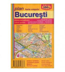 Harta orasului Bucuresti...