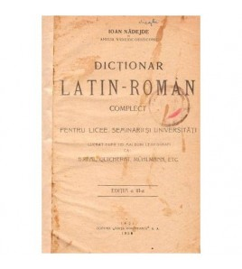 Dictionar latin - roman