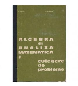 Algebra si analiza...