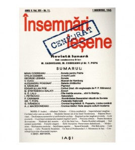 Insemnari iesene - Revista...