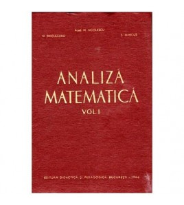 Analiza matematica vol.I