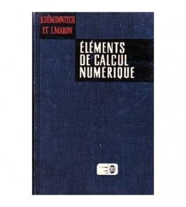 Elements de calcul numerique