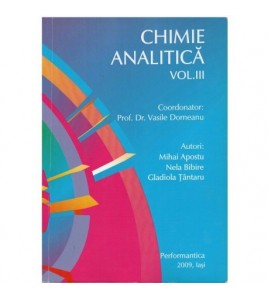 Chimie analitica vol. III