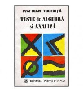 Teste de algebra si analiza