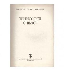 Tehnologii chimice