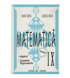 Matematica clasa a IX-a -...