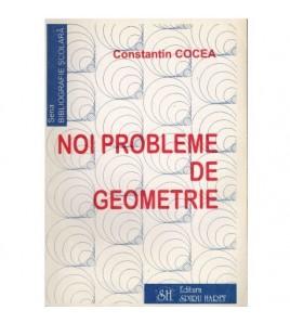 Noi probleme de geometrie