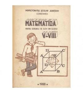 Matematica pentru cercurile...