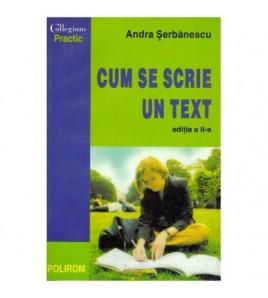 Cum se scrie un text