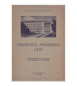Institutul politehnic Iasi...