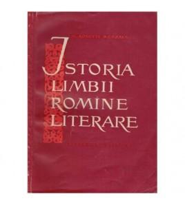 Istoria limbii romine...