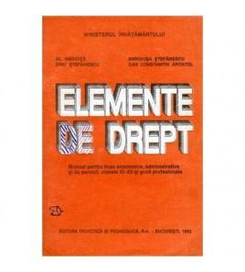 Elemente de drept - Manual...