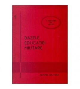 Bazele educatiei militare -...