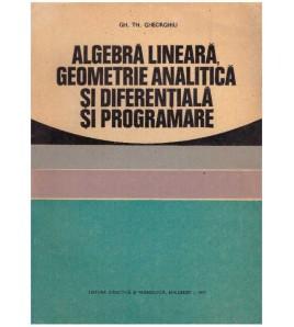 Algebra lineara, geometrie...