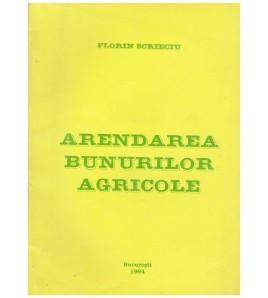 Arendarea bunurilor agricole