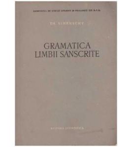 Gramatica limbii sanscrite