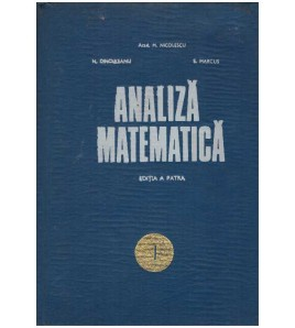 Analiza matematica - vol....