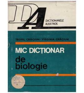 Mic dictionar de biologie
