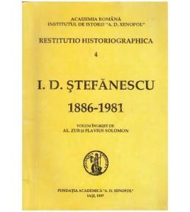 I. D. Stefanescu 1886-1981